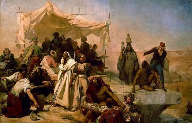 File:Leon Cogniet - L Expedition D Egypte Sous Les Ordres De Bonaparte.jpg