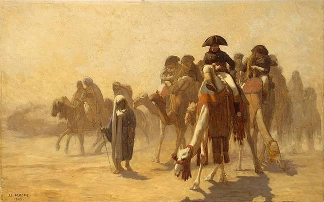 Ficheiro:Napoleon y sus Generales en Egipto.jpg