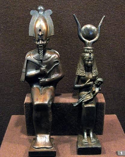 Ficheiro:Hermitage Egyptian statuettes.jpg