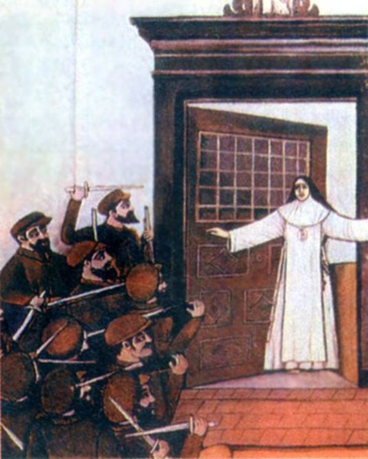 Ficheiro:Joana Angelica martirio.jpg