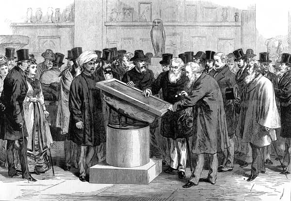Arquivo: Congresso Internacional Rosetta Stone dos orientalistas ILN 1874.jpg