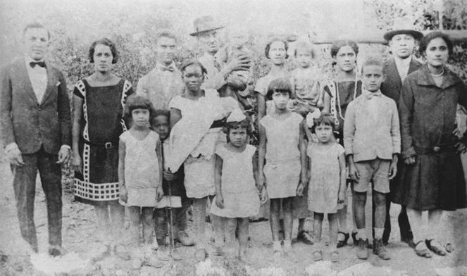 Família de CX em 1929