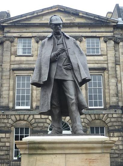 443px-Sherlock_Holmes_Statue,_Edinburgh