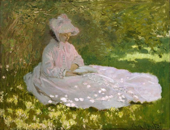File: Claude Monet - Primavera - Google Art Project.jpg