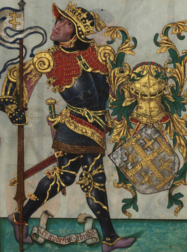 File:Godofredo de Bulhão, Livro do Armeiro-Mor (1509).png