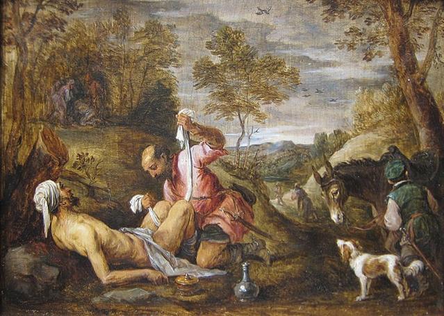 File:'The Good Samaritan' by David Teniers the younger after Francesco Bassano.JPG