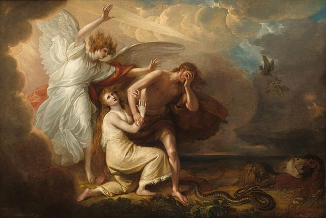 File:Benjamin West The Expulsion of Adam and Eve from Paradise.jpg