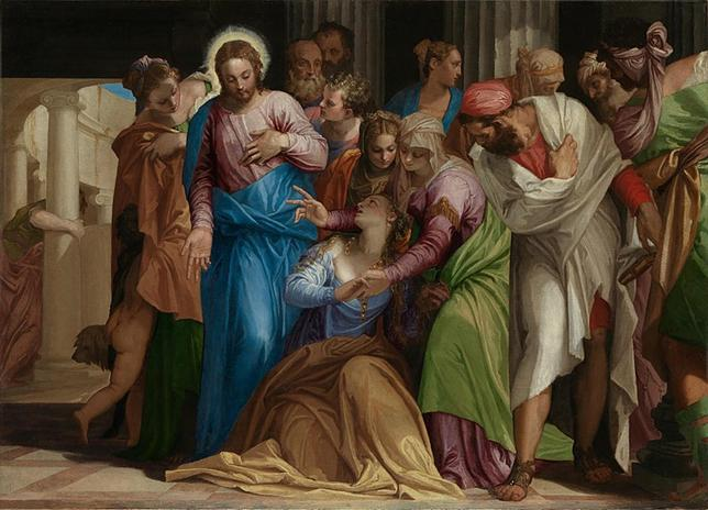 Paolo Veronese, The Conversion of Mary Magdalene.jpg