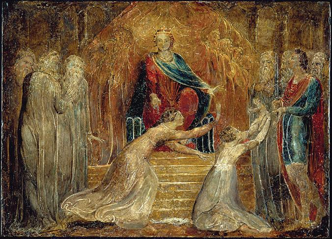 File:William Blake - The Judgment of Solomon.jpg