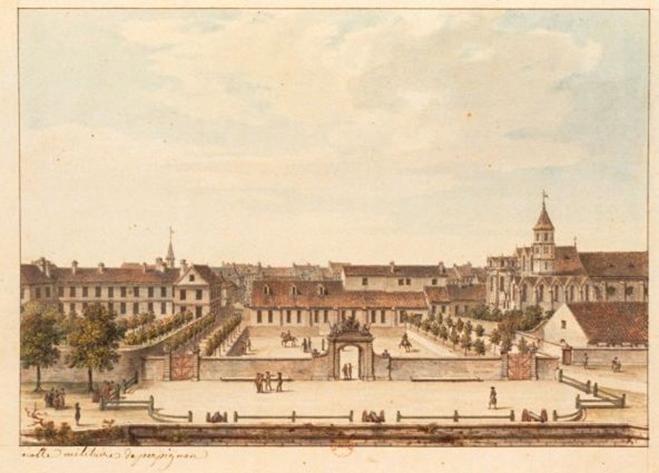 Arquivo: Perpignan - Ecole militaire (vers 1780) .jpg