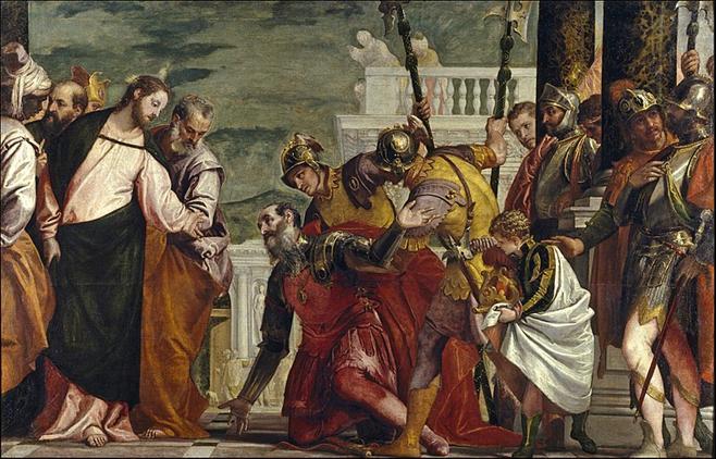 File:Jesús y el centurión (El Veronés).jpg