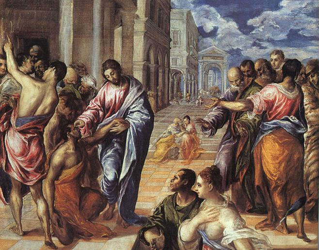 Ficheiro:El Greco - Christ Healing the Blind - WGA10420.jpg