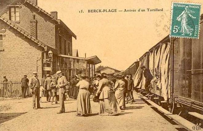 Image illustrative de l'article Ligne de Berck-Plage à Paris-Plage