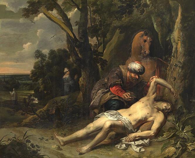 https://upload.wikimedia.org/wikipedia/commons/thumb/d/de/Balthasar_van_Cortbemde_-_The_Good_Samaritan.jpg/800px-Balthasar_van_Cortbemde_-_The_Good_Samaritan.jpg