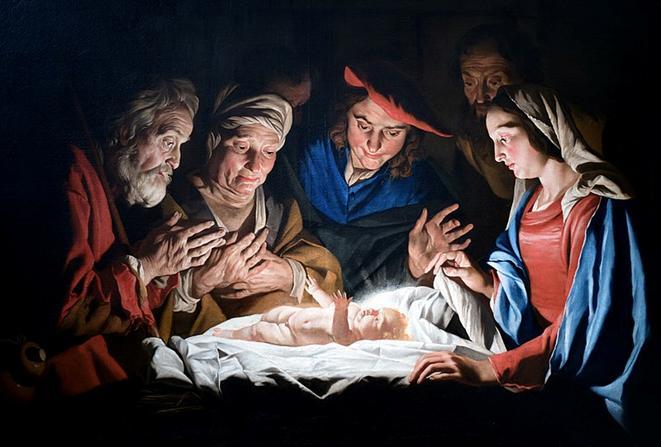 Arquivo: Adoração dos pastores - Matthias Stomer.jpg