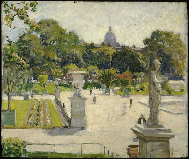 File:George Oberteuffer - Luxembourg Gardens - Google Art Project.jpg